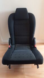 Peugeot 307 SW estate 2003 rear removable seat - used, excellent condition