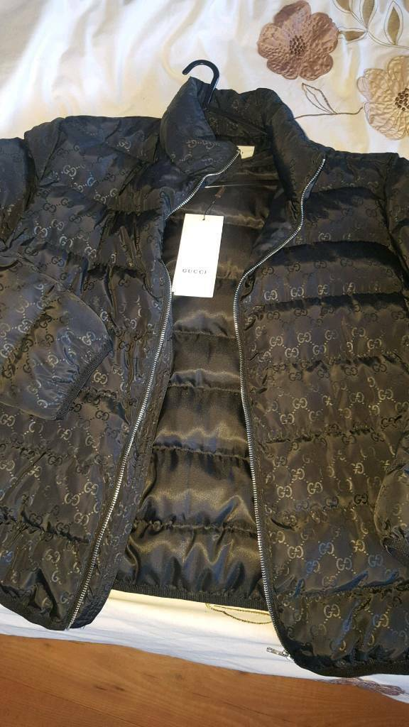5ca9e01a2 Gucci Quilted Monogram Down Jacket in Black | in Dartford, Kent ...