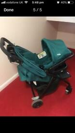 Join stroller and car seat