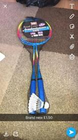 Badminton set brand new