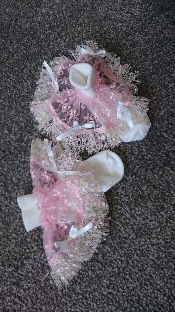 Girls handmade socks