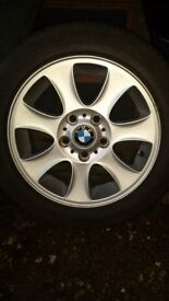 BMW 1 or 3 series winter alloy wheels and tyres = New lower price