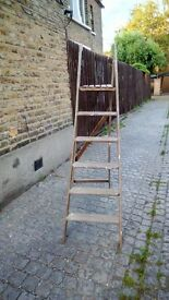 Wooden ladders in excellent condition