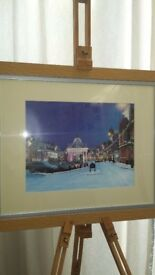 Beverley at Christmas - original artwork