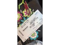 Justin bieber ticket for Sunday 30th of October at the SSE HYDRO. STANDING TICKET