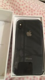 iPhone X 256gb space grey new
