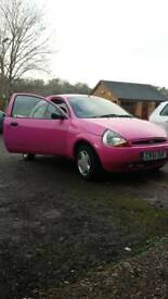 Very pink Ford KA
