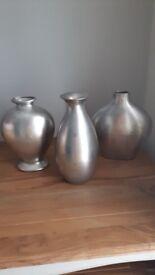 3 Large Vases