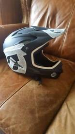 Bmx full face helmet