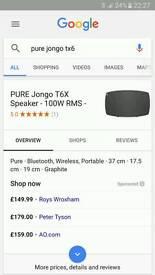 Pure jongo t6x brand new multiroom speaker