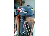 Suzuki outboard - 4 hp, 2 stroke