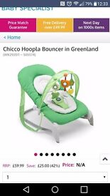 Chicco loopla bouncer chair