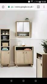 John Lewis design bathroom cabinet