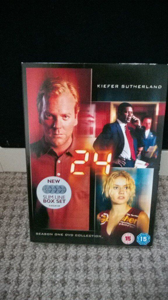 24, season one dvd set