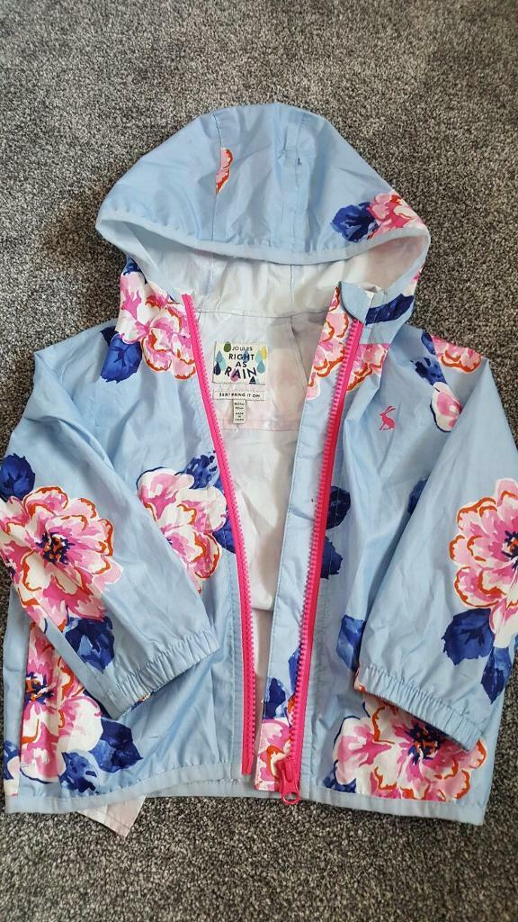 Joules Girls Raincoat 18-24m