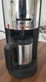 Morphy Richards coffee machine with milk frother