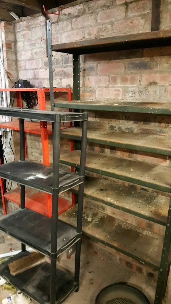 3 x shelves for shed or garage