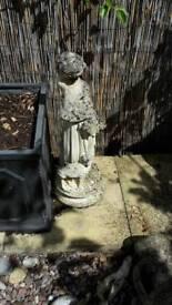 Concrete statue
