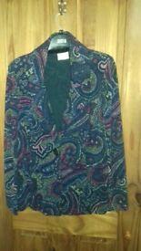 Light weight tailored jacket from Viyella size 14-16