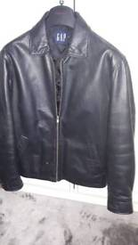 Mans real leather jacket