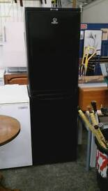 Black indesit fridge freezer