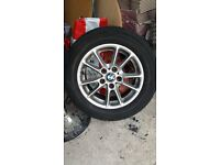 Bmw alloy wheels x4