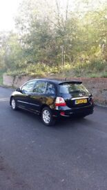 honda civic 1.6 petrol manual black full leather interior hatchback 5doors