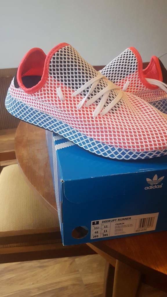 8f13594a9 Brand new Adidas DEERUPT uk size 11