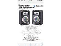 Vocal Star 200w active speaker set