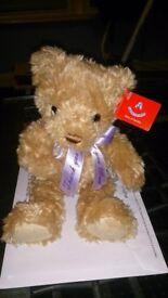 """Aurora """"Theodore Bears-Thanks You Mum"""" Bear, New"""