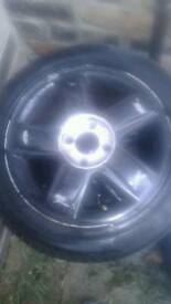 Alloy wheels 15 inch universall