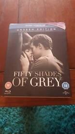 Fifty Shades of Grey Blu-ray.