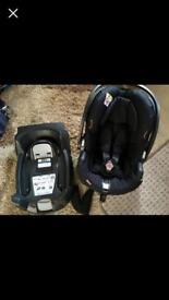 BeSafe car seat + izofix base