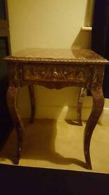 Shabby Chic Decoupage Table