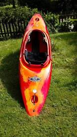 Kayak Dagger GT 7.8 and cover