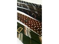 5 x various vintage retro ties