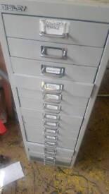 Vintage Metal filing draws work office?