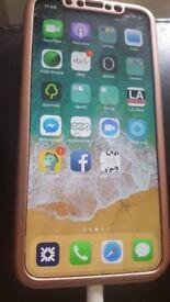 IPHONE X EE SMASHD SCREEN FULLY WORKING
