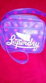 Superdry cross body bag