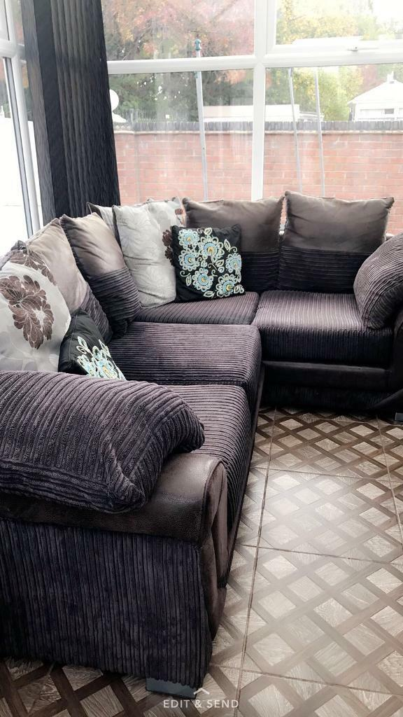 Corner sofa, less than a year old