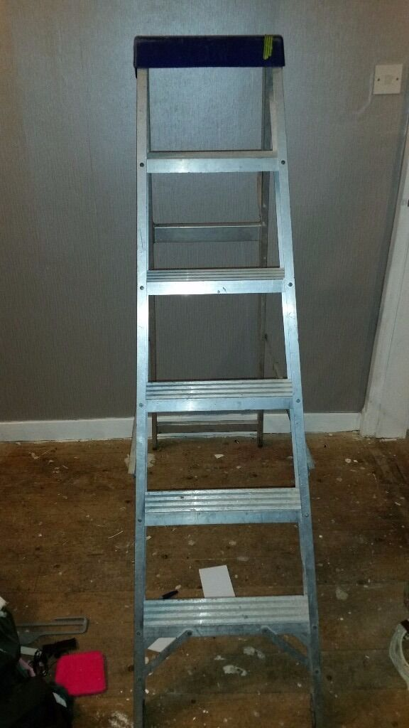 Extra wide 5/6 clow step ladders have shown online price comparison to show cheap at £20