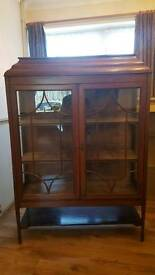 **Antique display cabinet**