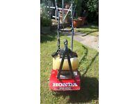 Honda tiller/rotvator