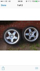 Mercedes AMG wheels brand new scorpion tyres