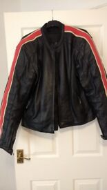 Lewis Leather Jacket uk42/eur52