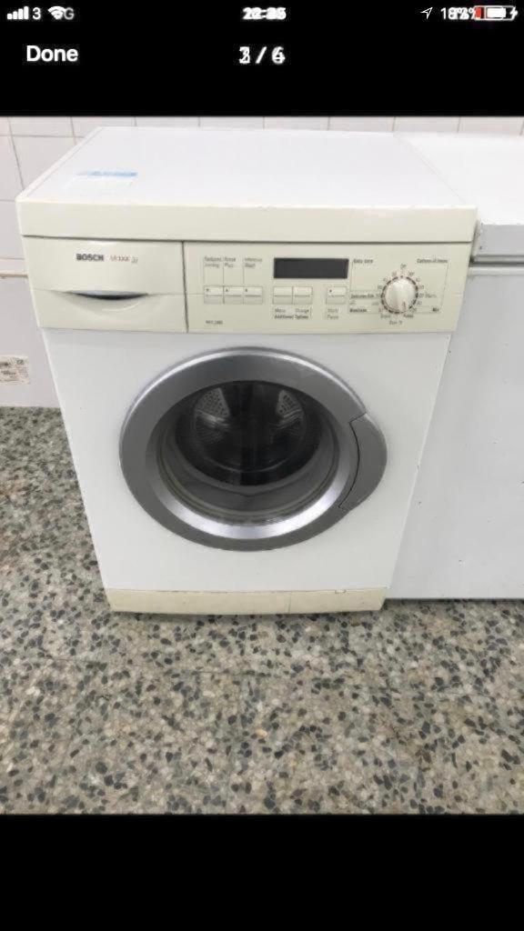 Bosch washing machine 7kg 1400rpm A+ 4 month warranty free delivery and installation thanks