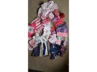 6-9 month girls clothes bundle - excellent condition