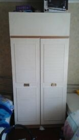 2 double wardrobes for sale