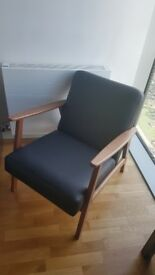 leather arn chair used