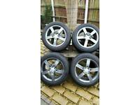 "5 x 100 16"" Winter Alloys & Tyres"
